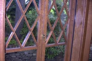 Close detail of garrison sash.